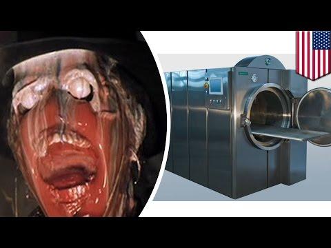 Inilah cara kerja mesin pelarut mayat