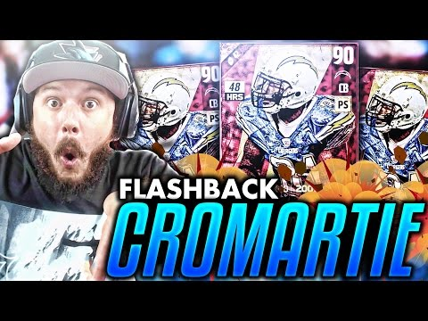 FLASHBACK CROMARTIE!! BRUH BACK TO BACK - MADDEN 17 PACK OPENING