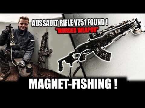 AK-47 GEVONDEN IN AMSTERDAM ! - WATCHDUTCH MD - MAGNEETVISSEN - MET IRONMEN MD - POLITIE