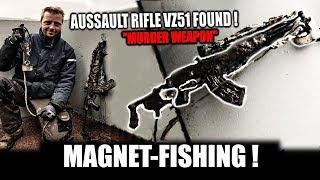 AK47 FOUND IN AMSTERDAM! - WATCHDUTCH MD - MAGNETFISHING - WITH IRONMEN MD