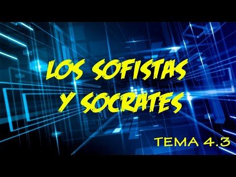 TEMA 4.3 LOS SOFISTAS: PROTAGORAS - GORGIAS