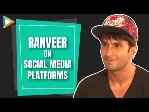 Ranveer Singh Exclusive Interview On Social Media Part 1