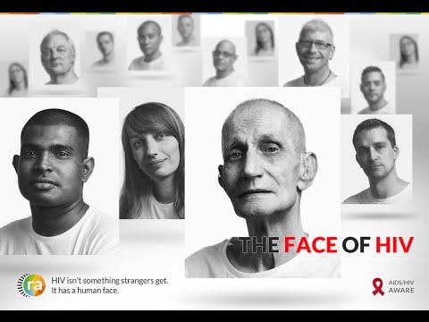 human face of hiv