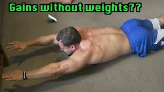 Video Can you REALLY Build Muscle with Bodyweight Training Only? download MP3, 3GP, MP4, WEBM, AVI, FLV Oktober 2018