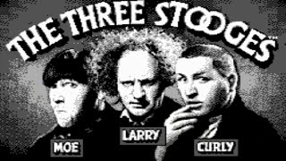 The Three Stooges (NES) Playthrough  - NintendoComplete