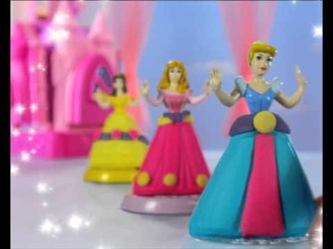 Лепить платье из пластилина принцессе