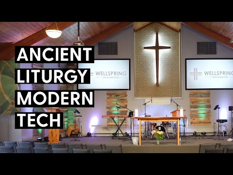 Worship Tech Tour - Wellspring Church