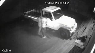 PROFESSIONAL CAR THIEF CAUGHT UNDER CCTV CAMERA | INDIA
