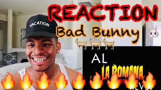 La Romana FT El Alfa - Bad Bunny X 100PRE REACTION