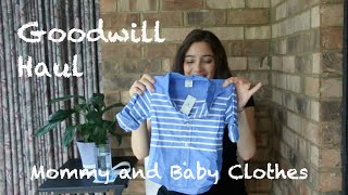Goodwill Haul - baby clothes