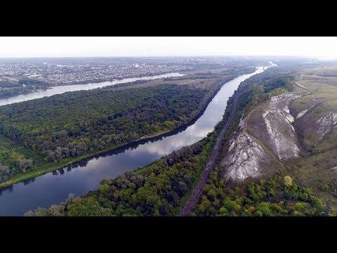 Лиски - Откос - Меловые горы - река Дон - озеро Богатое (10 км) (кэш FPV 720p)