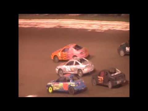 Eagle Raceway Sport Compact A Feature on 8-20-16
