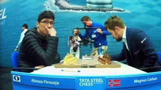 KING MAGNUS!! Alireza Firouzja vs Magnus Carlsen    Tata Steel Masters 2020 - R9