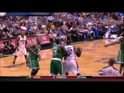 Kendrick Perkins on Dwight Howard defence in G1