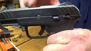 Ruger Security 9- Removing The Take Down Pin Without Damaging The Slide