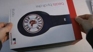 Beats by Dr Dre Studio Headphones Boston Red Sox Special Edition Unboxing
