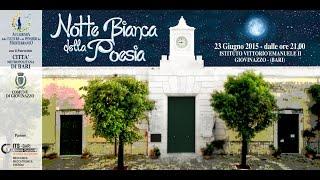 Notte Bianca Poesia - Giovinazzo 2015 short video