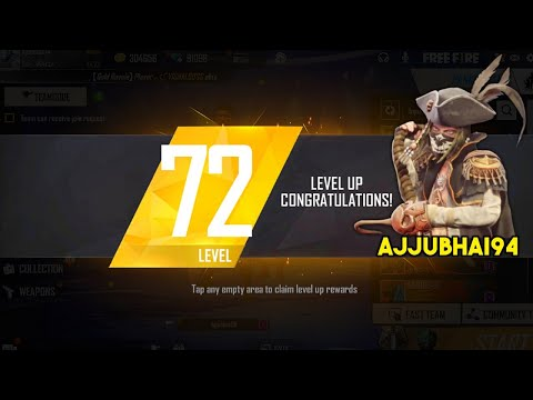 Free Fire Live M82B and AWM OverPower Ajjubhai Level 72 Gameplay – Garena Free Fire