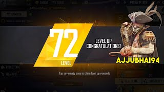 Free Fire Live M82B and AWM OverPower Ajjubhai Level 72 Gameplay - Garena Free Fire