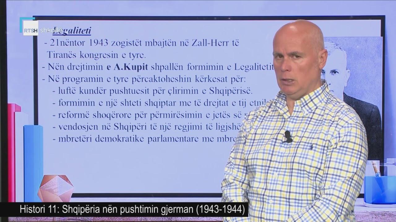 Download Histori 11 - Shqipëria nën pushtimin gjerman (1943-1944)