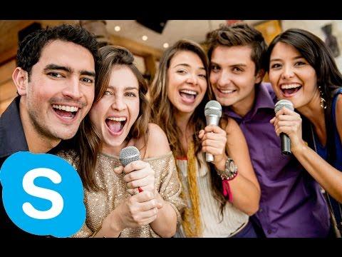 Skype karaoke (Volume Warning)