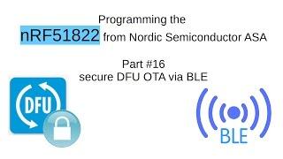 nRF51822 #16: secure DFU OTA via BLE (english)