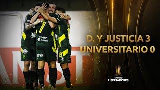 Дефенса и Хустисия  3-0  Университарио видео