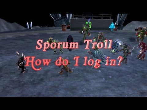 Sporum How do I login?
