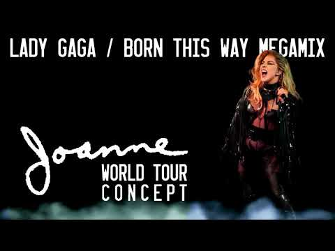 Lady Gaga - Scheiße/Medley (Marry The Night/Judas/Heavy Metal Lover) - Joanne World Tour Concept mp3