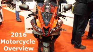 125cc Motorcycle Overview -  2016