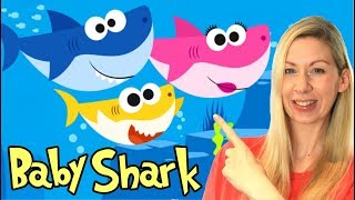 Baby Shark Song for Kids | Sing and Dance Songs for Children | Animal Songs