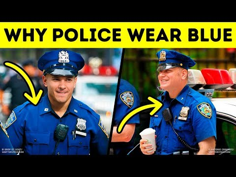 The Main Reason Why Police Wear Blue