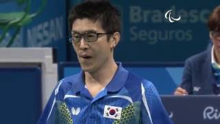 Baixar Table Tennis | South Korea v Denmark | Men's Singles- Class 6 Semifinal 2| Rio 2016 Paralympic Games
