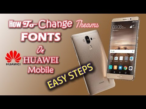 Change Font Style On EMUI 9 / 8 *NO ROOT*   Huawei Nova 3/3i