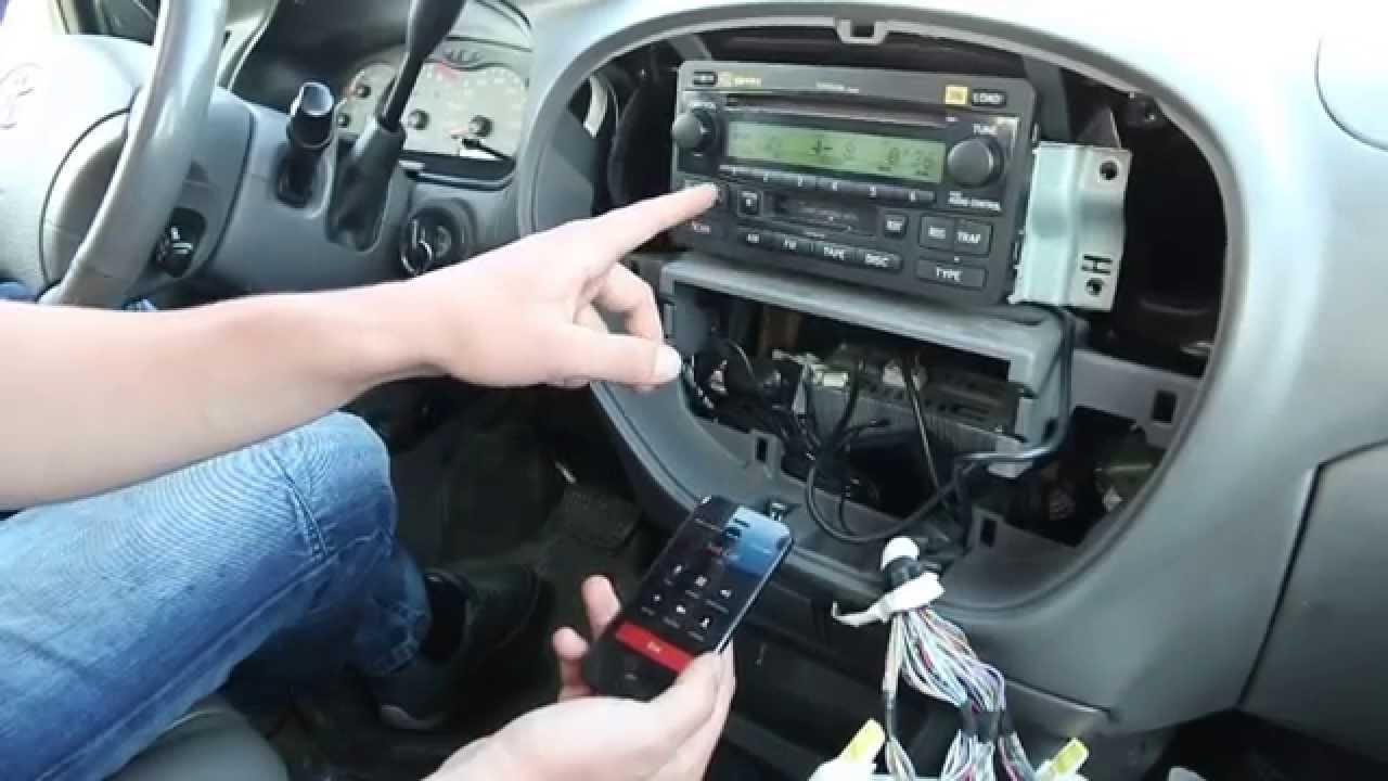 Toyota Sequoia 20012007 Bluetooth Extension installation