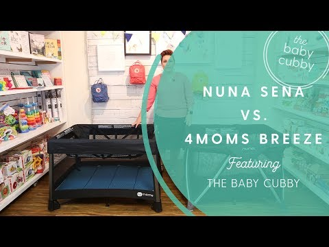Nuna Sena Aire Vs. 4moms Breeze Playard Comparison