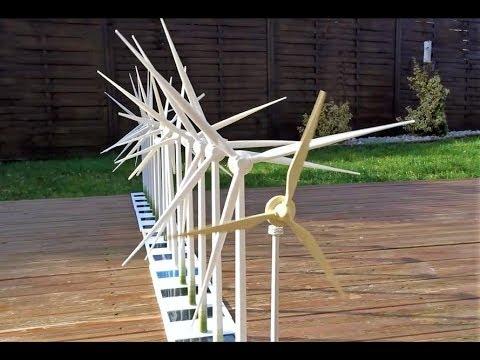Enercon E-40, E-66, E-70, E-82, E-138 Solar windmill models
