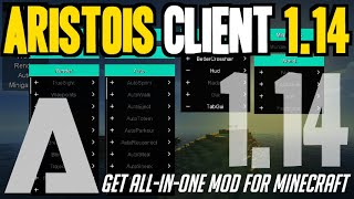 Download lagu How to get Aristois Client for Minecraft 1 14 downloadinstall Aristois Client 1 14 MP3