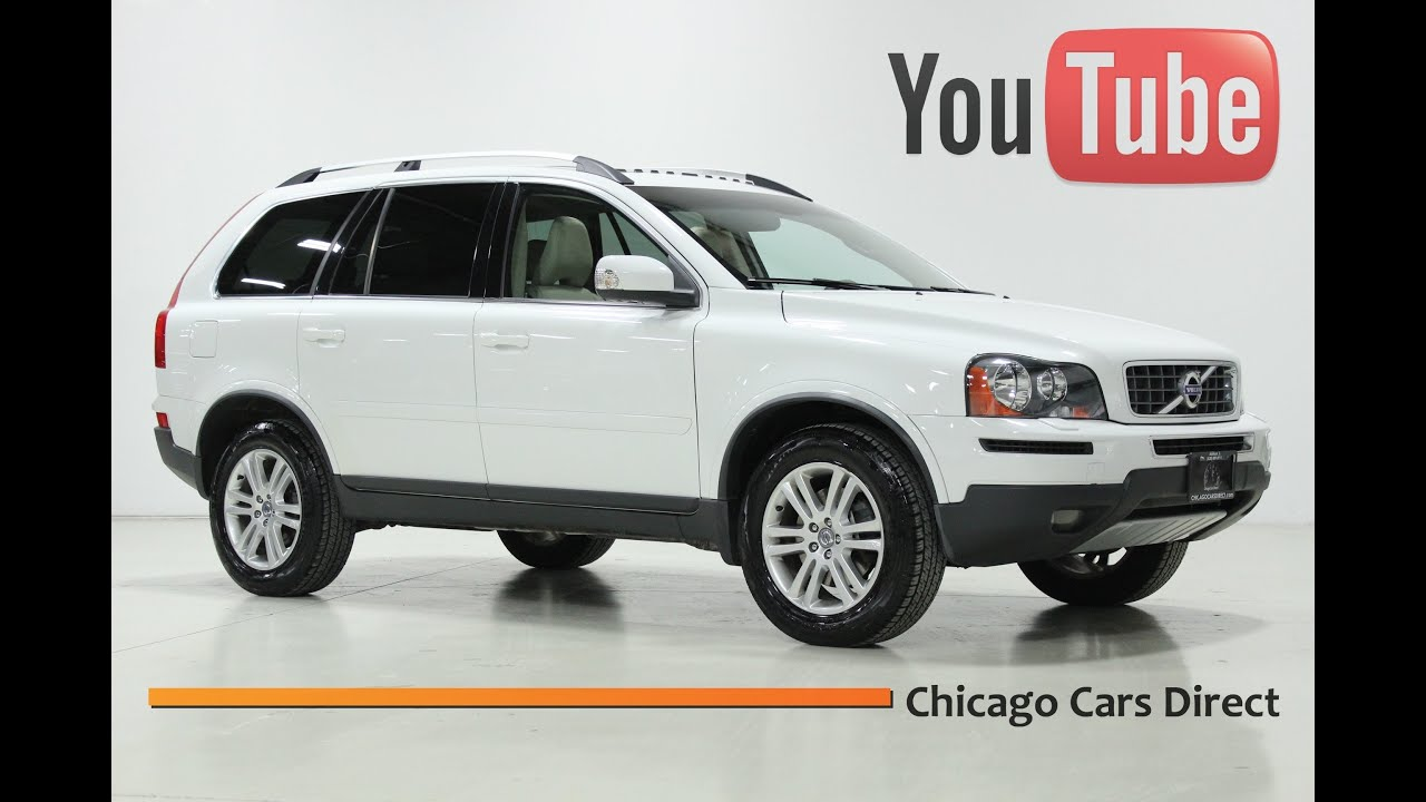 Chicago cars direct presents a 2011 volvo xc90 awd ice white beige 585941
