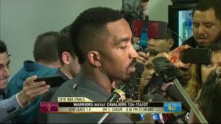 JR Smith   Game 1 NBA Finals Response
