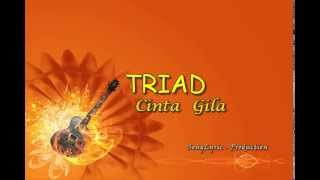 Video TRIAD - Cinta Gila (Song Lyric Production) download MP3, 3GP, MP4, WEBM, AVI, FLV Oktober 2017