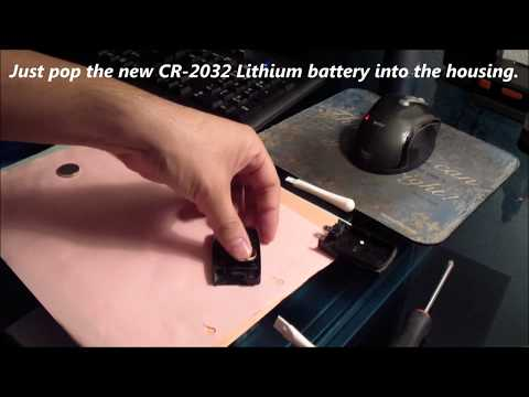 Acura Remote Key Fob Battery Replacement 2014 to 2017