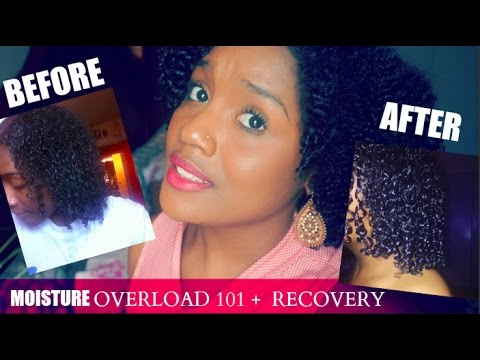 How I Recovered from SEVERE Moisture Overload + RECOVERY Pictures & Footage