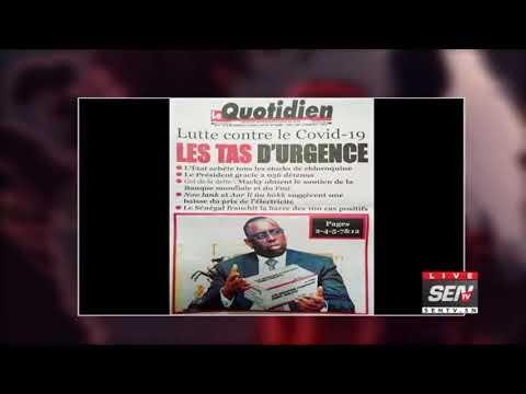 La revue des titres avec Fabrice Nguema du vendredi 27 mars 2020