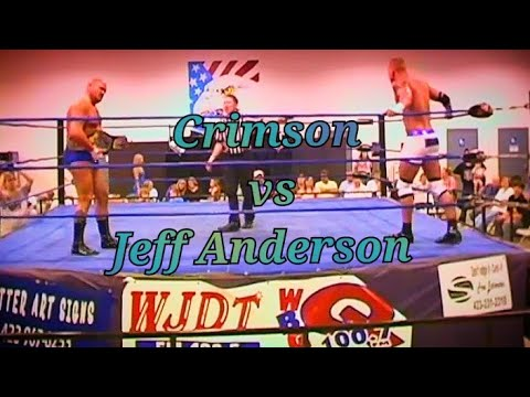 TOMMY MERCER Crimson TNA vs The WIldman JEFF ANDERSON EWP Wrestling