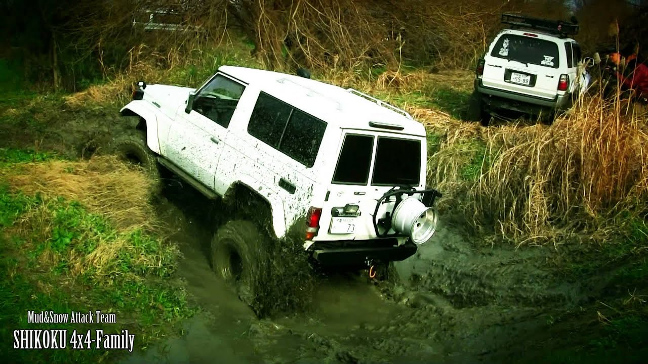 shikoku 4x4 family 2016 japan 4x4 mud snow attack team youtube. Black Bedroom Furniture Sets. Home Design Ideas