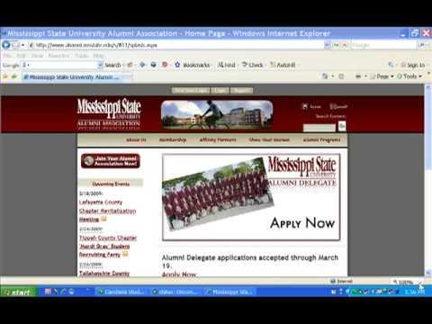 Registered User Tutorial - MSU Alumni Association Online Community