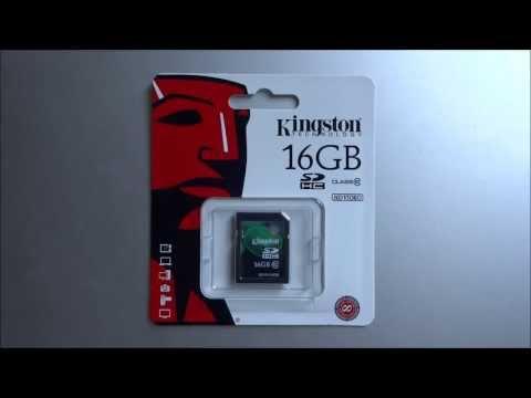 Kingston Secure Digital Class 10 Value Card