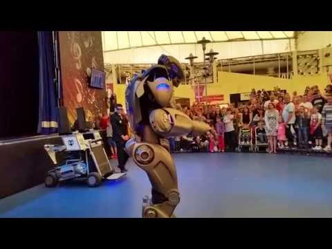 Titan the Robot at Butlins Skegness
