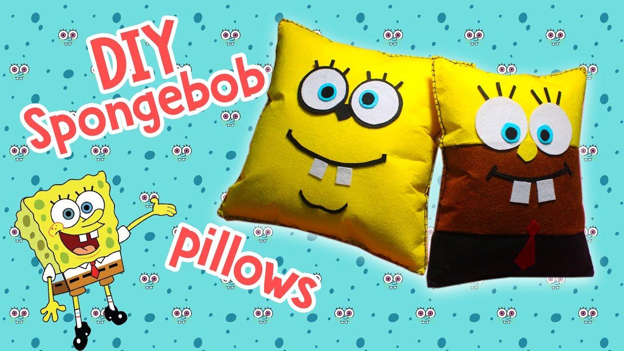 diy spongebob squarepants pillow lovely gift idea easy